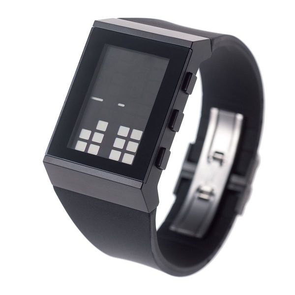 Optical reading watch