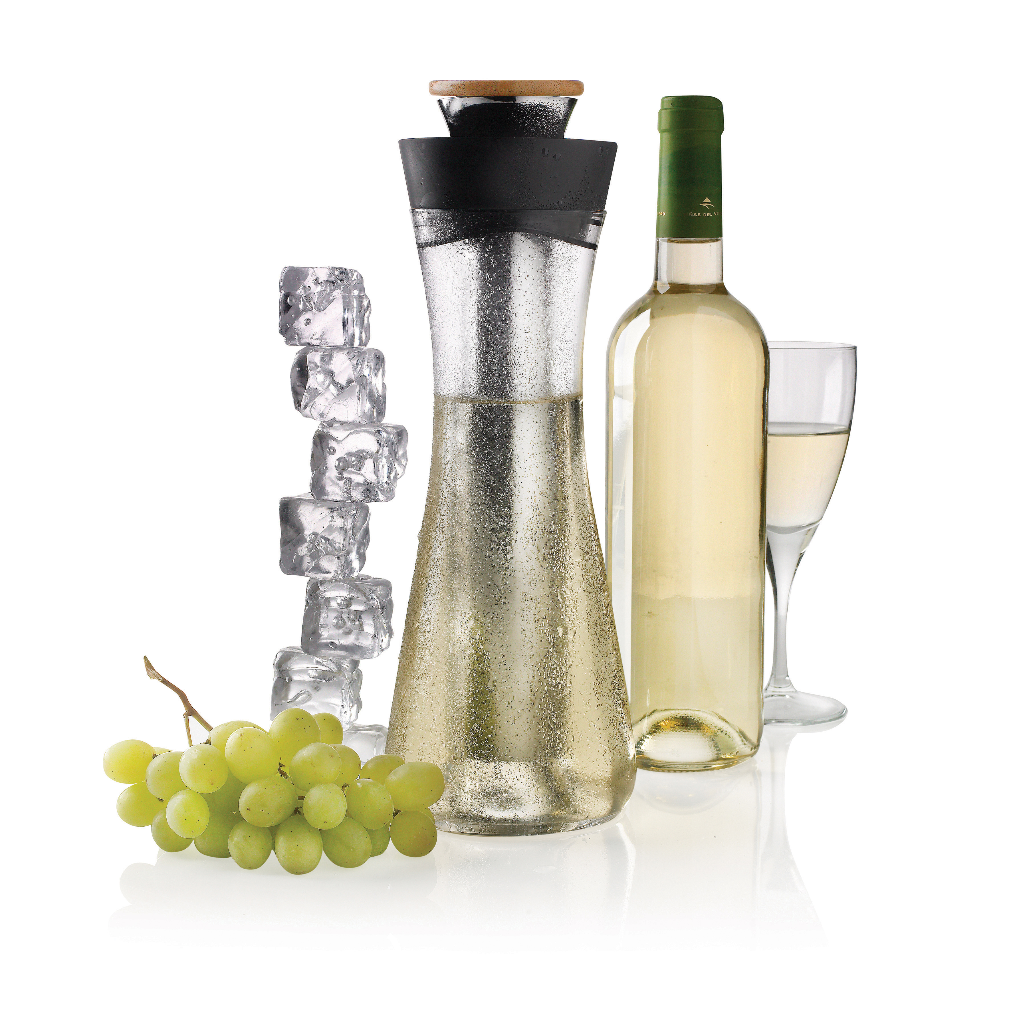 Gliss white wine carafe